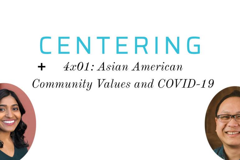 "Centering Season 4: ""Being Community"""